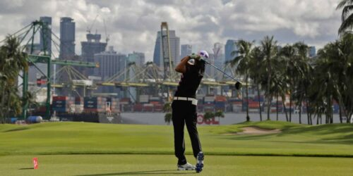 Golf time in Singapore takes pro skills to score during travel ban
